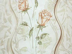 Обои, розы, крупный рисунок, розы, бежевый, акриловые на бумаге, 0,53*10м, ограниченное количество, фото 2