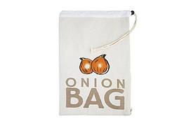Мешок из ткани для хранения овощей (лук)