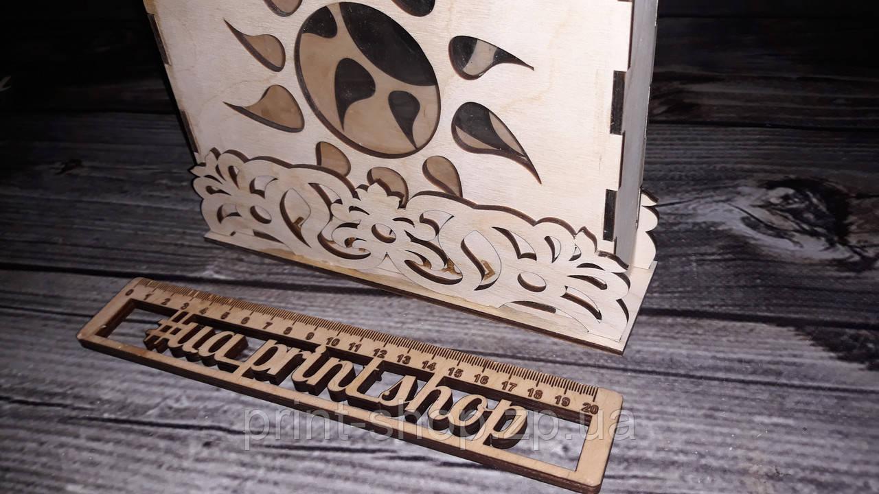 Рамка с подставкой для песочной церемонии.