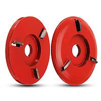 90 мм диаметр 16 мм с отверстием красный Power Wood Carving Угловой шлифовальный станок Приложение - 1TopShop