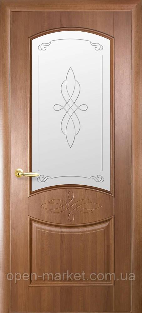 Модель Донна скло Р1 міжкімнатні двері, Миколаїв
