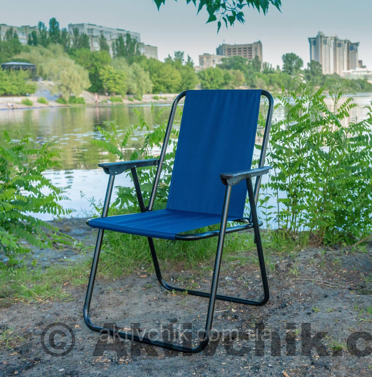 """Кресло """"Фидель"""" синий. код 061"""
