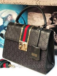 f8c255135981 Женская сумка Gucci (Гуччи), женская стильная сумочка, люкс качество,  черная: продажа, цена в Харькове. женские сумочки и клатчи от