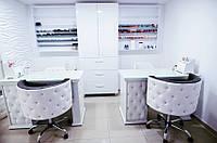 Комплект мебели для маникюра Ice Queen стол ДСП + кресло