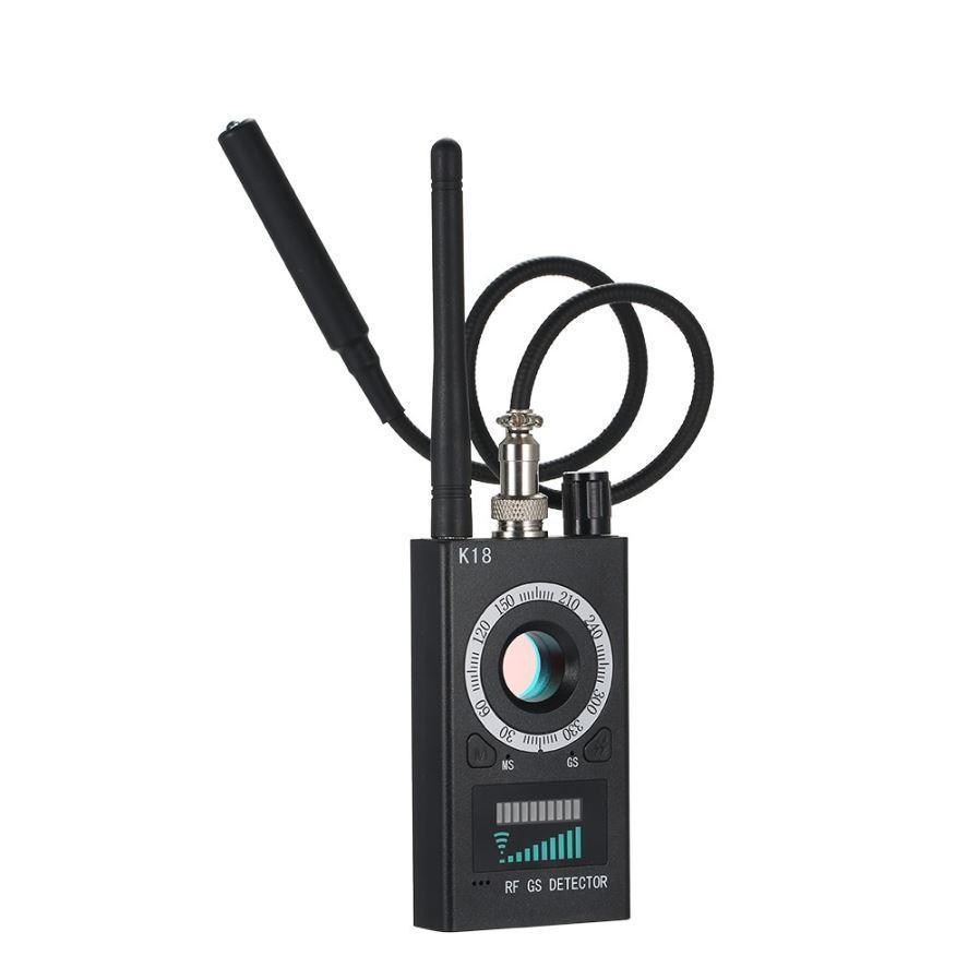 Детектор жучков GPS трекеров и скрытых видеокамер К18 (3 в 1!)