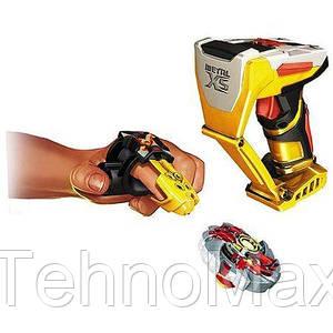 Игровой набор волчек Огненный Ястреб - Firehawk, Metal XS, Starter Pack, Battle Strikers, Mega Bloks