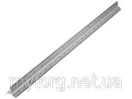 Трехгранная масштабная линейка 1:50 12 дюймов 22 см