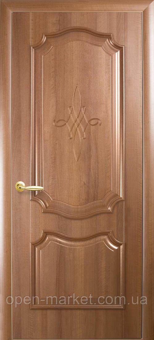 Модель Рока без стекла Гравировка межкомнатные двери, Николаев