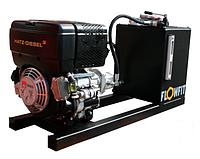 Блок питания P+T с дизельным двигателем HATZ Flowfit, 19,7 л.с., 36 л / мин