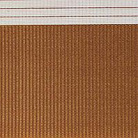 Готовые рулонные шторы Ткань ВМ-1211 Коричневый