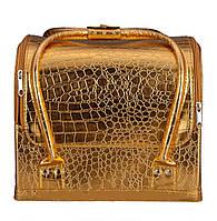 """Золотая сумка для мастеров """"крокодил"""""""
