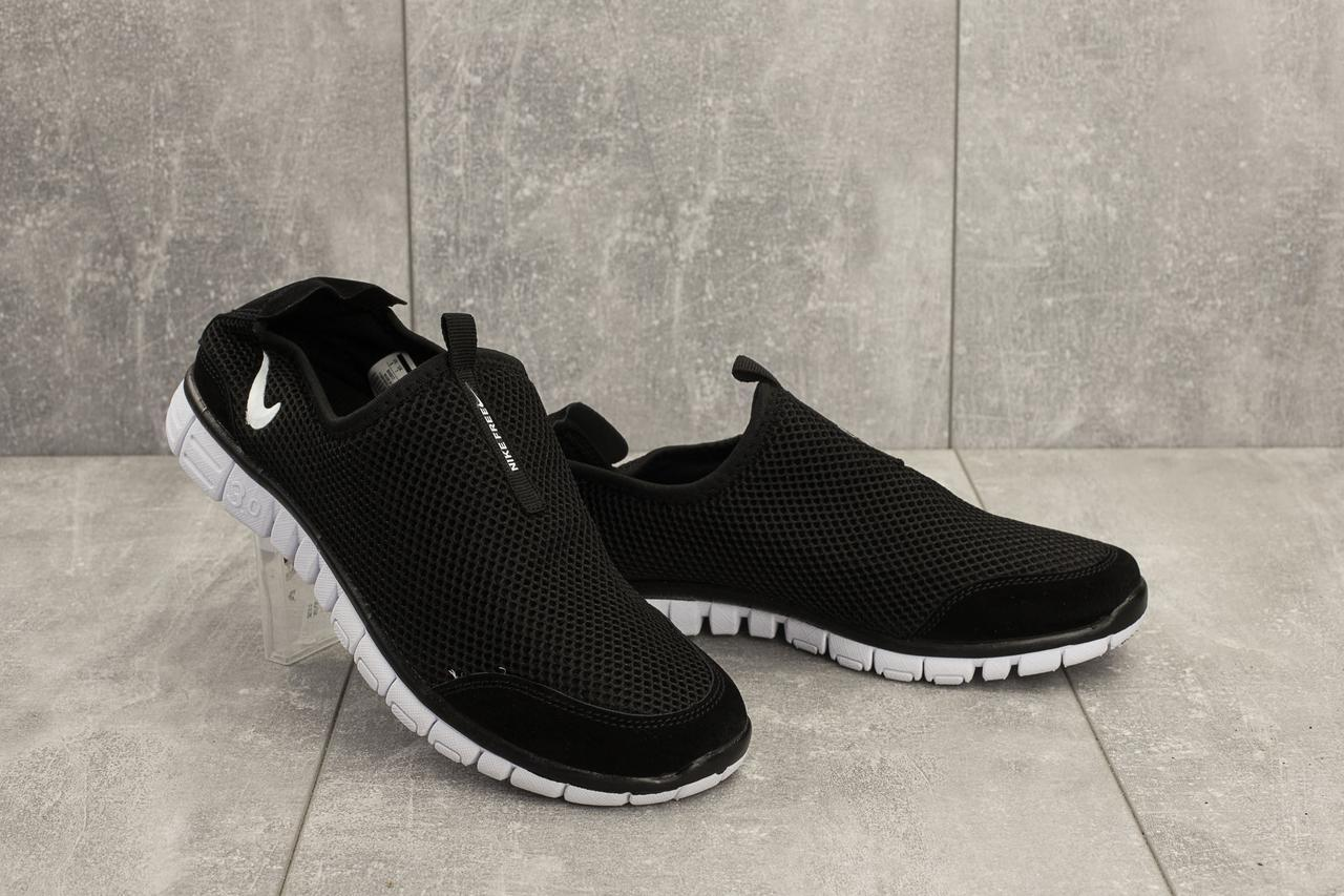 e35e785b Мужские кроссовки Nike Free Run 3.0 (реплика), черные (G 5005-6 ...