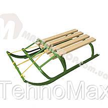 Санки с веревкой и складной спинкой, фото 3