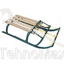 Санки с веревкой и складной спинкой, фото 2