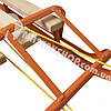 Санки для ребенка с веревкой и складной спинкой, фото 4