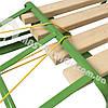 Санки для ребенка с веревкой и складной спинкой, фото 5