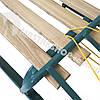 Санки для ребенка с веревкой и складной спинкой, фото 6