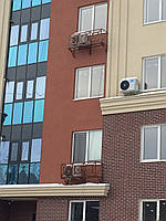 Корзины  для установки  кондиционеров на фасаде здания