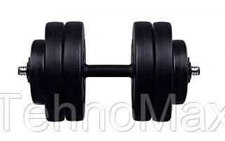 Гантель композитная RN-Sport 23 кг - 1 шт