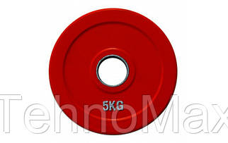 Диск олимпийский обрезиненный ALEX 5 кг