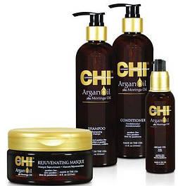 Сhi argan oil глубокое увлажнение на основе масла арганы и моринга