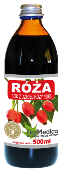 Сок шиповника 100% без консервантов Ekamedica, 500мл