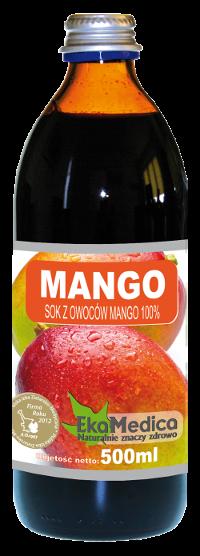 Сок из Манго 100% без консервантов Ekamedica, 500мл