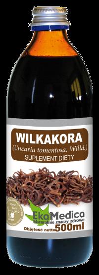 Сок Вилкакоры (Ункария опушённая) без консервантов Ekamedica, 500мл