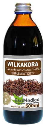 Сок Вилкакоры (Ункария опушённая) без консервантов Ekamedica, 500мл, фото 2