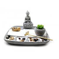 Декоративная композиция Сад камней Будда