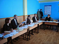 Засідання учасників робочої групи в рамках україно-швейцарського проекту «Державно-приватне партнерство для покращення санітарно-технічної освіти в Україні»