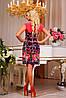 Яркое, стильное платье приталенного силуэта , фото 3