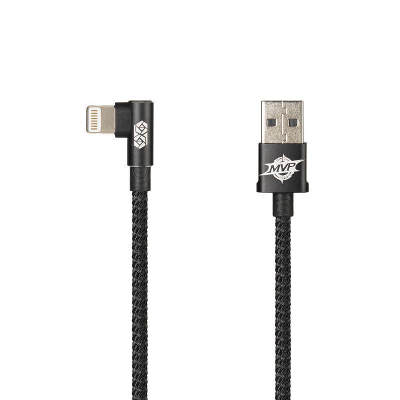 USB Cable Baseus MVP Elbow MicroUSB (L Shape) Black 1m