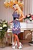 Красивое летнее платье с цветочным рисунком, фото 2