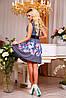 Красивое летнее платье с цветочным рисунком, фото 3