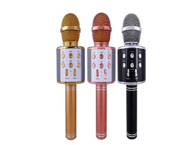 Беспроводной Bluetooth Караоке-микрофон WS-858