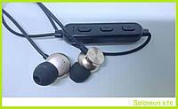 Беспроводные Bluetooth (Блютуз) Наушники с Магнитом Вакумные Solomun S1C