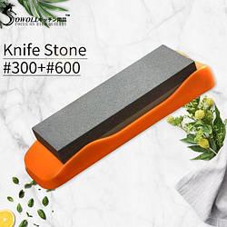 Камень точильный водный 300/600 Orange Medium