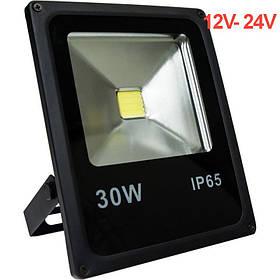 Светодиодный прожектор 30W 12-24V 6400К IP65 Код.59544