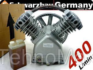 Компрессорная головка 400 л/мин (2065 ripper V-0.25) Польша