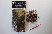 600 штук золотых резиночек для плетения Loom Bands