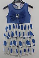 Летнее платье для девочек 4 года