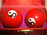 Массажные шары здоровья металические, фото 1