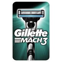 Gillette. Бритва Gillette Mach 3 с 1 сменным картриджем  (251147)