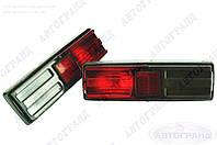 Фонарь 21011 задний (черный корпус) тюнинг серый/красный