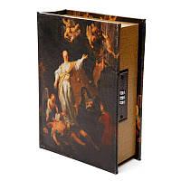 """Книга сейф тайник для денег BST 480024 22×17×7 см разноцветная """"Фортуна"""""""