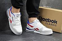 Мужские кроссовки в стиле Reebok Pro NY, белые 44 (28,3 см)