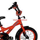 Детский велосипед Crosser Street 14 дюймов оранжевый, фото 3