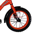 Детский велосипед Crosser Street 14 дюймов оранжевый, фото 4