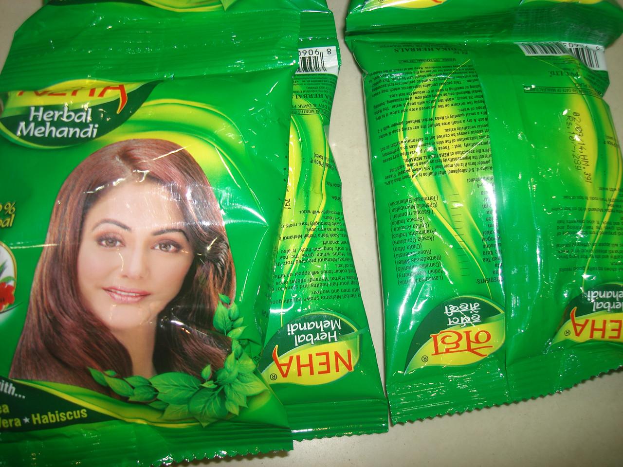 Хна для окрашивания волос 28 грамм NEHA